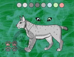 Ref Sheet: For Bri-Lanie by ThePaintedPaws