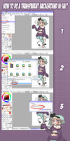 How to do a transparent background in SAI??? by ThePeten