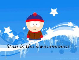 Stan is the Awesomeness by Kyle-Fan-Girl