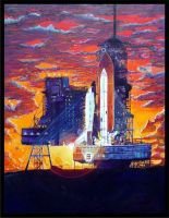 SPACE SHUTTLE3 by blairsmith