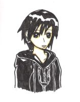 Xion sketch colored by spongedav