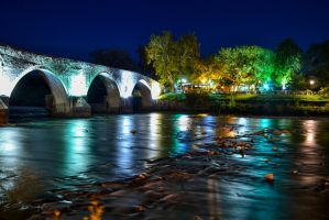 Bridge of Arta, Greece by Magiamal