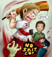 Shaun of the Dead by Nintendo-Nut1