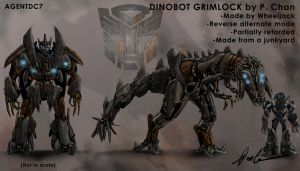 Transformers movie - Grimlock by agentdc7