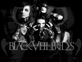 Black Veil Brides Wall 5 by kayelle89