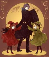 Happy Halloween by Amichiinyan