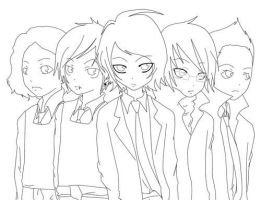 anime my chemical romance by mcrbotdfgirl