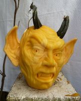 Demon Pumpkin by Jam-Butty