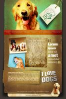 Dogs Website by beshoywilliam