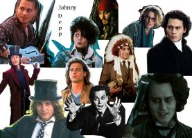 Johnny D characters wallpaper by chibiviolinist