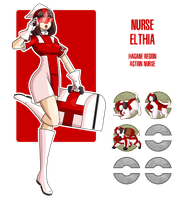 Fakemon: Nurse Elthia by MTC-Studio