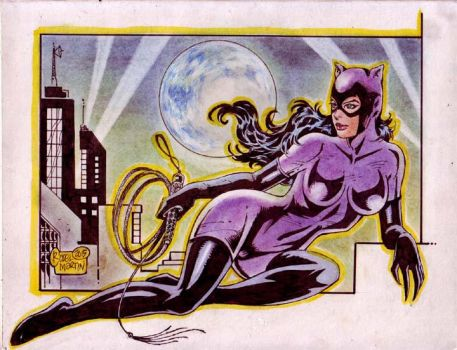 CATWOMAN by RODEL MARTIN (09082015) by rodelsm21