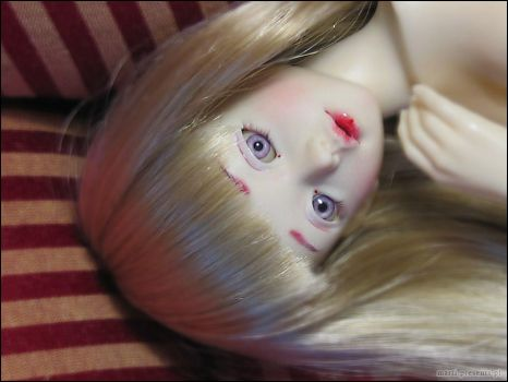 Miukini- new face-up by ball-jointed-Alice