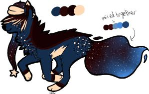 Galaxy pup TAKEN by XanderGirl96
