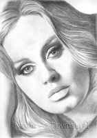 Adele by Karentownsend