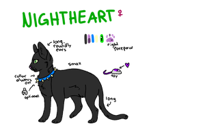 Nightheart :ref: by catpain