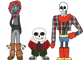 Canadtale AU References 001 by RicePoison