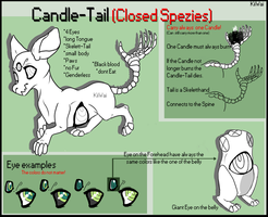 Candle-Tail Ref. Sheet. [CLOSED SPEZIES] by KiiWai