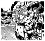 Shadowrun - Car Chase by SteamPoweredMikeJ