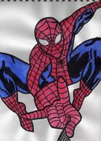 Swing Spidey Swing by Sonic-Spider
