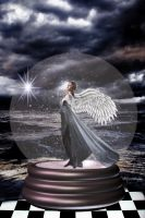 Angel Of The Storm by Shirley-Agnew-Art