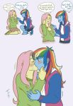 Fluttershy can't hold her feels ~ by tutiwakalaka