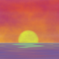 New World Sunset by oldblueford