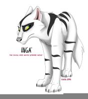 Inga - Black and white by Ochiba
