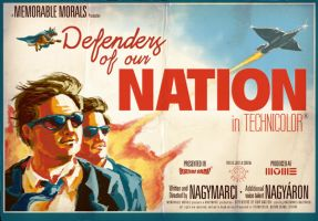 Defenders of our Nation poster by Nagymarci