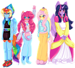 MLP My Alternative Universe : love is magic by karsisMF97