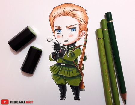 Chibi Germany || Hetalia by HideakiArtReal