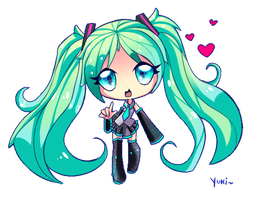 Cute miku by Aiilu-chan
