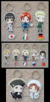 Keychains:Close Ups by Mikochi