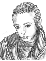 Tom Kaulitz drawing by InterRose