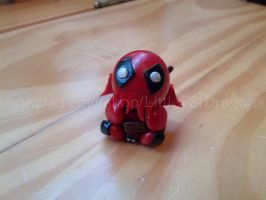 Little Fat Deadpoolthulhu by LittleFatDragons