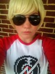 Homestuck- Dave Strider Cosplay by tuesdayrocks