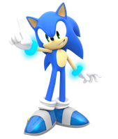 Smash Sonic All Star Pose edit by Nibroc-Rock
