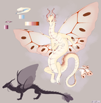 Moth Dragon by xXNuclearXx