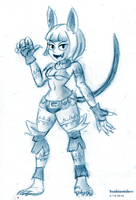 Ms. Fortune Sketch by SB99stuff