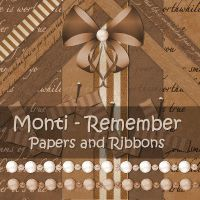 Monti-Remember-PapersandRibbon by justmonti