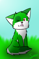 pie on mah nose X3 by CoolCodeCat