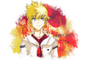 Roxas  Urban Style KH2 by guto-strife-1