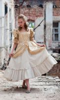 Zombie Girl by ann-emerald-stock