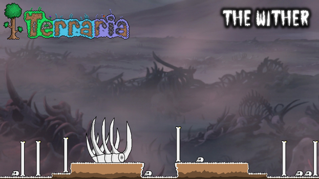 Terraria Biome Idea - The Wither by StarWars888