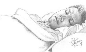 Sleeping Dean Sketch by Sillie