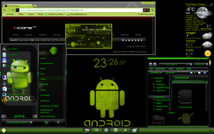android desk by bazsi44