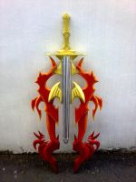 Noel Kreiss's Sword -not really finished- by ToshiyuKii