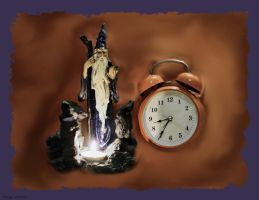 Merlin And Time by Tigles1Artistry