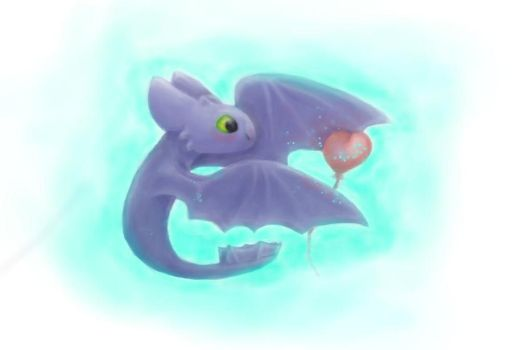 Toothless...Cute Toothless by Anastasia209