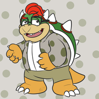 Bowser by Cartcoon